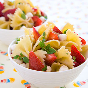Pasta Salad recipe and image from parents.com