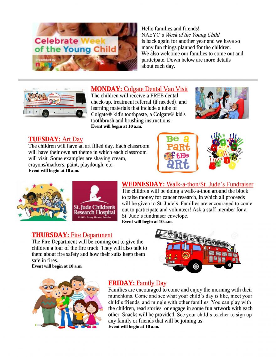 Celebrate the Week of the Young Child with Toddler Town!