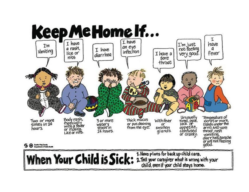 When to keep your child home