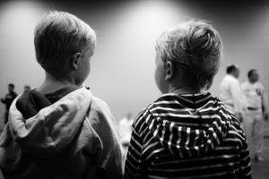 friends in a daycare