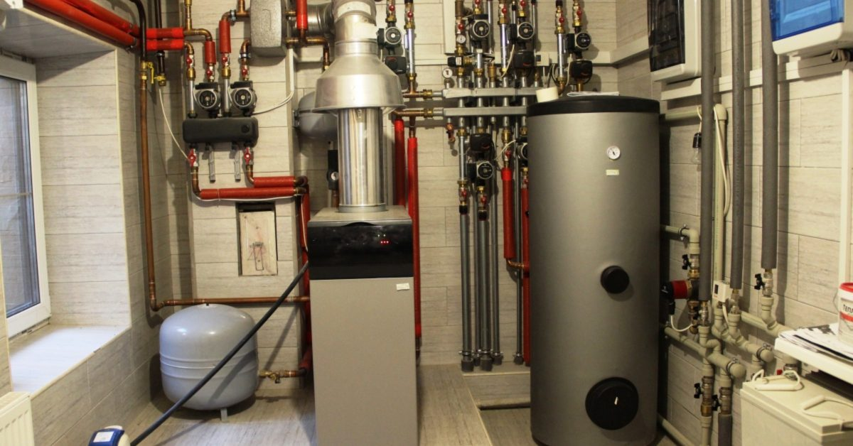 an image of a home heating system