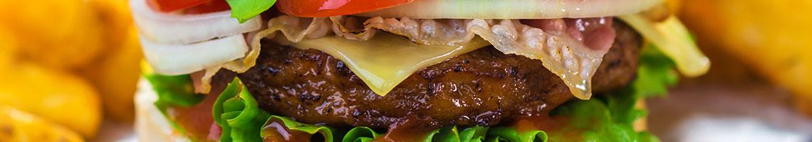 Burgers Menu Banner