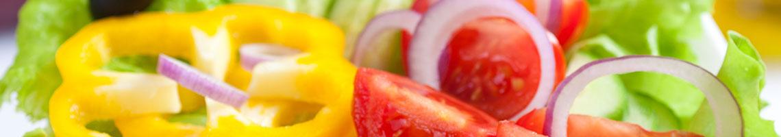 Salads Menu Banner