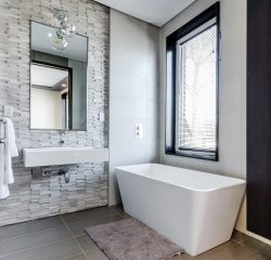 An image of a modern bathroom.