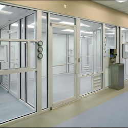 One of our modular clean rooms.