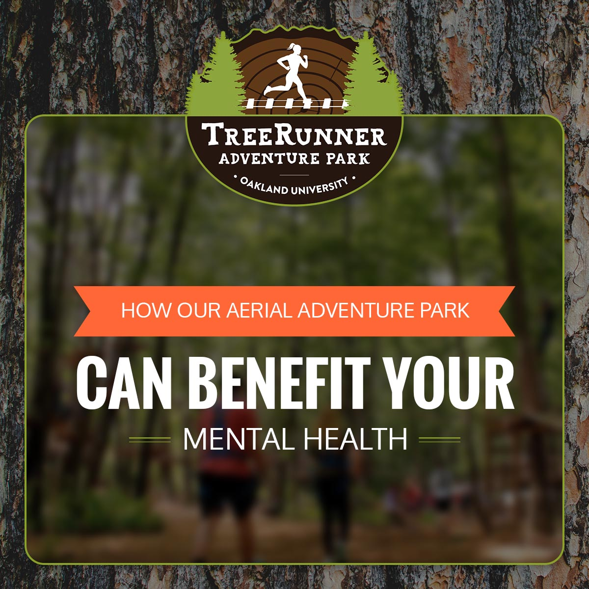 How TreeRunner Can Benefit Your Mental Health & Relieve Stress Infographic 1
