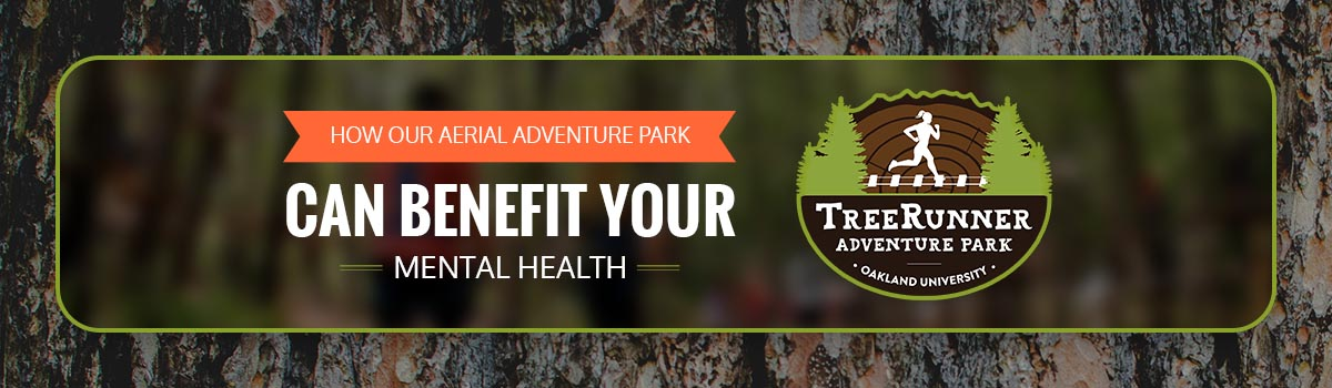How TreeRunner Can Benefit Your Mental Health & Relieve Stress Infographic 1 - Horizontal