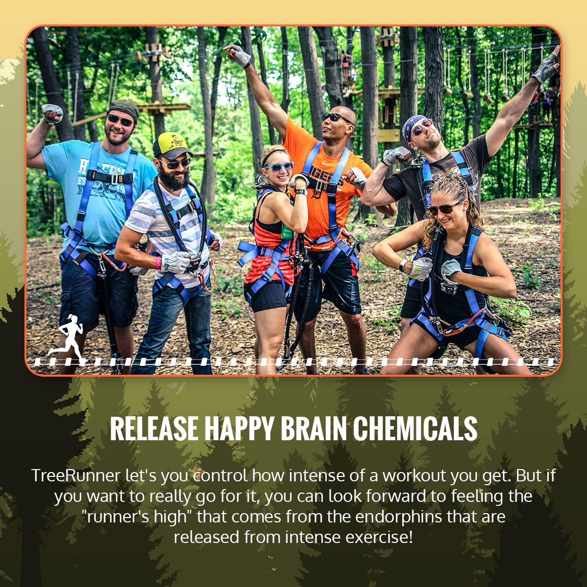 How TreeRunner Can Benefit Your Mental Health & Relieve Stress Infographic 3