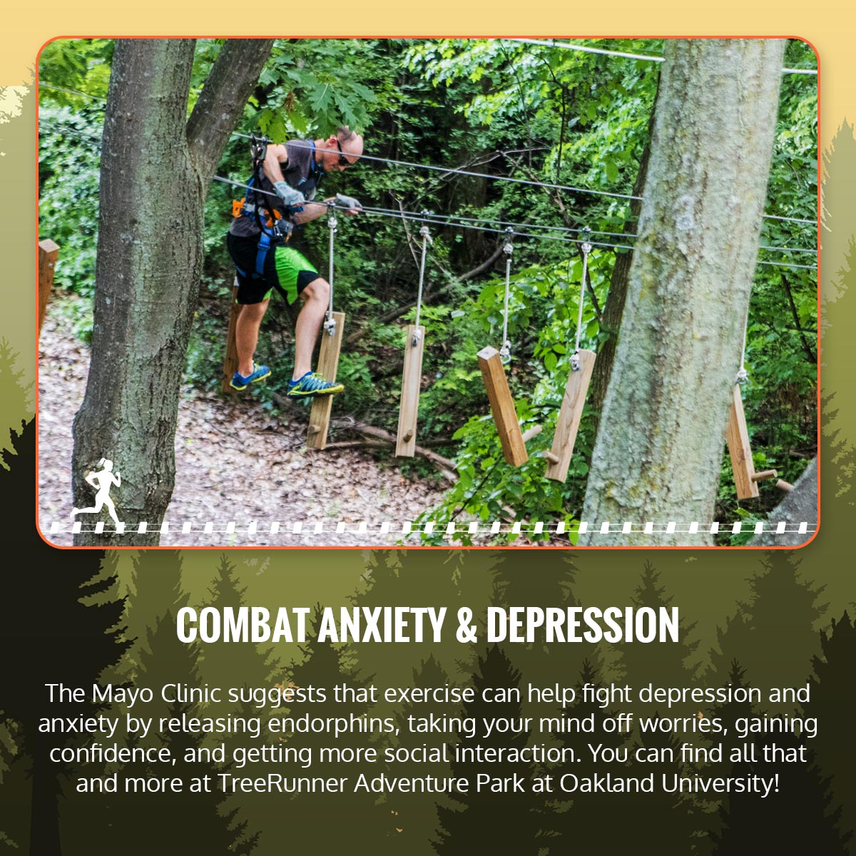 How TreeRunner Can Benefit Your Mental Health & Relieve Stress Infographic 4