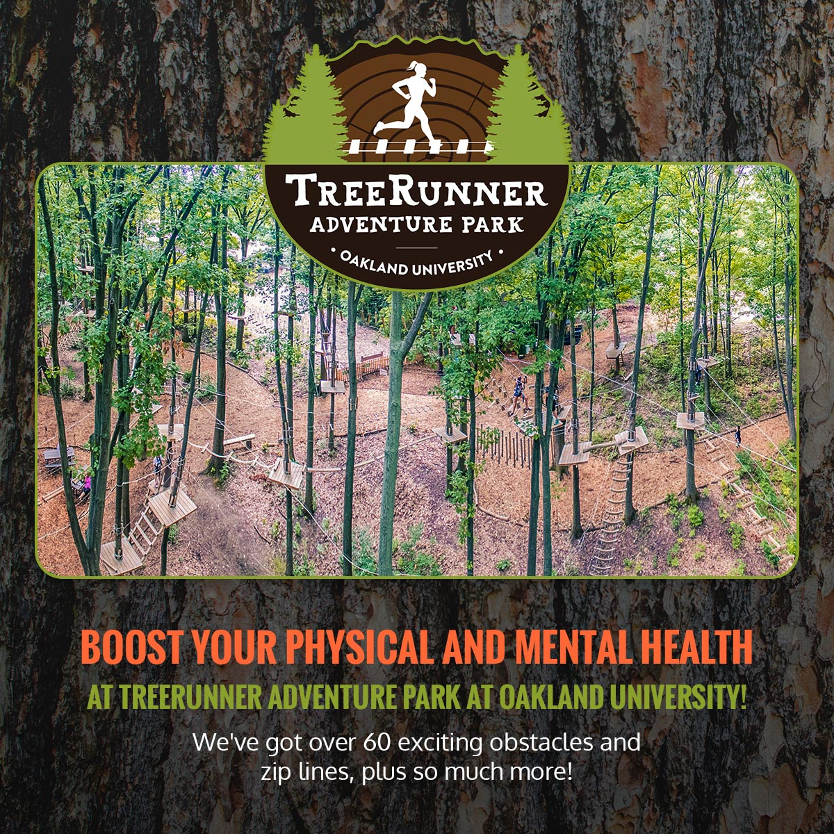 How TreeRunner Can Benefit Your Mental Health & Relieve Stress Infographic 7