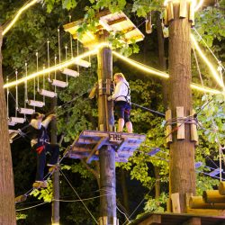 Nighttime Ropes Obstacle Course in Raleigh