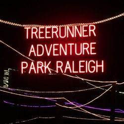 Nighttime Ropes Course in Raleigh