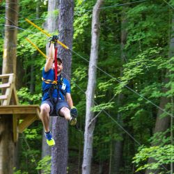 Outdoor High Ropes Course in Grand Rapids