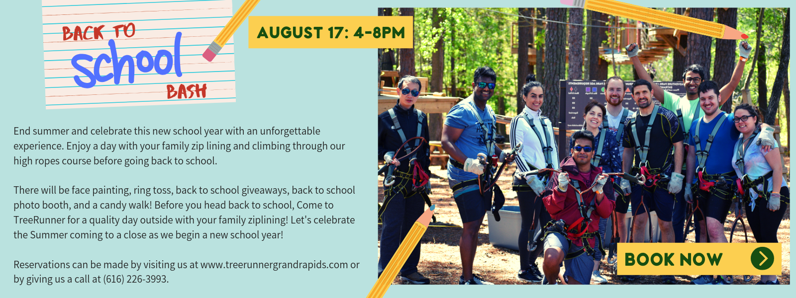 Special Events - Treetop Adventures & Special Events | TreeRunner