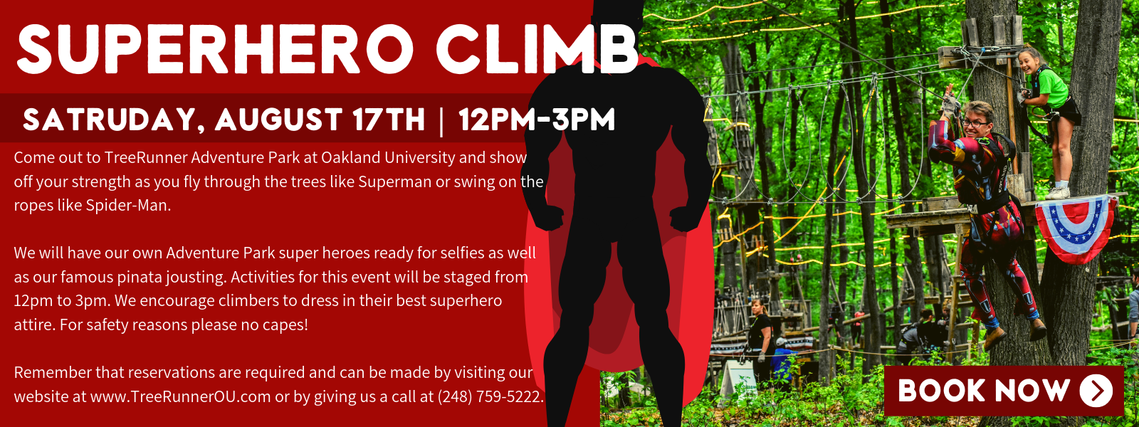 superhero climb