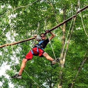 Outdoor Ropes Course in West Bloomfield