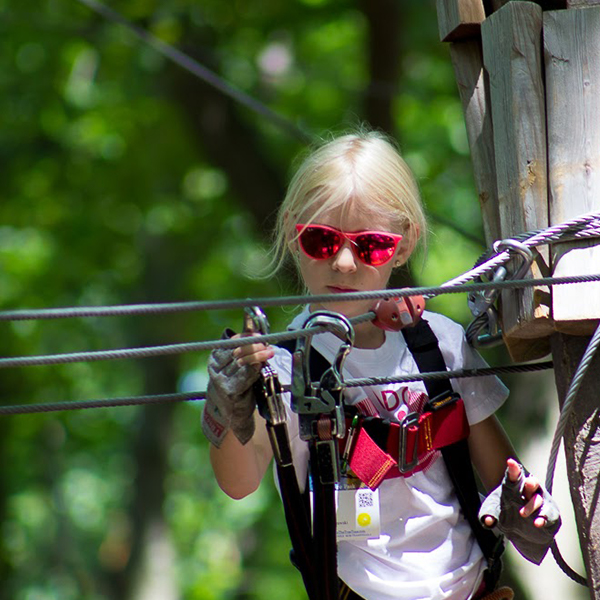 Ropes Course for Children in West Bloomfield