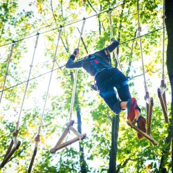 High Ropes Course in West Bloomfield