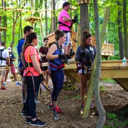 Ropes Course Team Building Activities in West Bloomfield