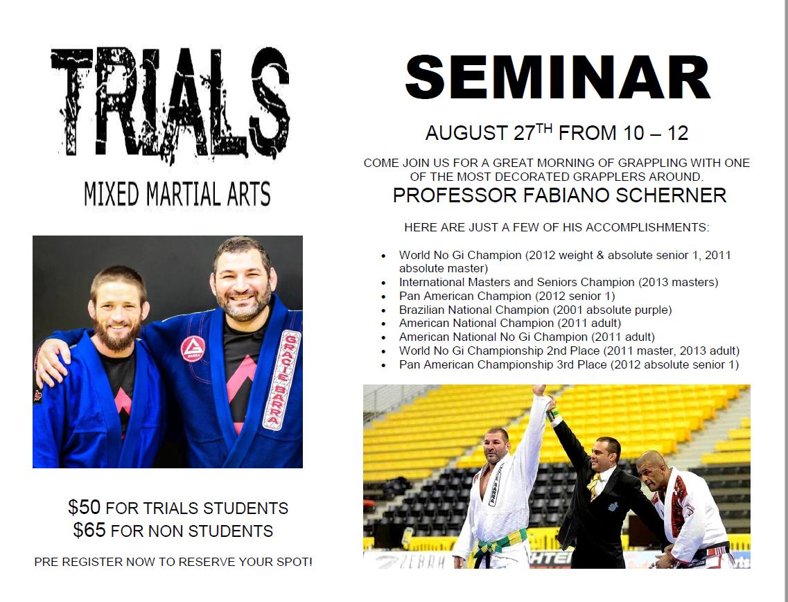 Fabiano Seminar 082416