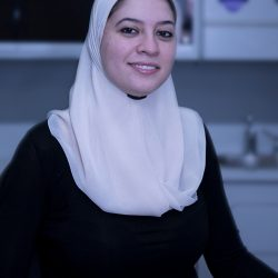 A profile shot of Dr. Dania Alkhani, dentist at Trillium Dental in the Westgate Mall.