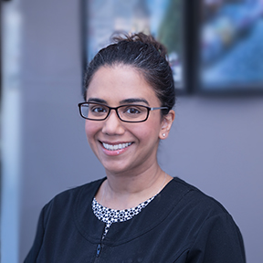 Dr. Daljit Nagra, family dentist at Trillium Dental in Ottawa.