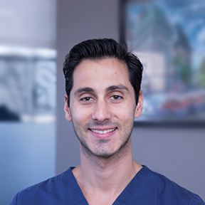 Dr. Demetrius Dalios, family and cosmetic dentist at Trillium Dental in Downtown Ottawa.