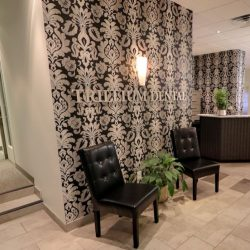 The front lobby at Trillium Dental in Downtown Ottawa.
