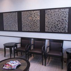 The patient waiting area at Trillium Dental in Stittsville West, Ottawa.