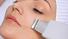 Ultrasonic facial