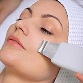 Ultrasonic facial