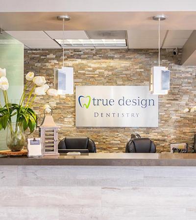 True Design Dentistry Front Desk