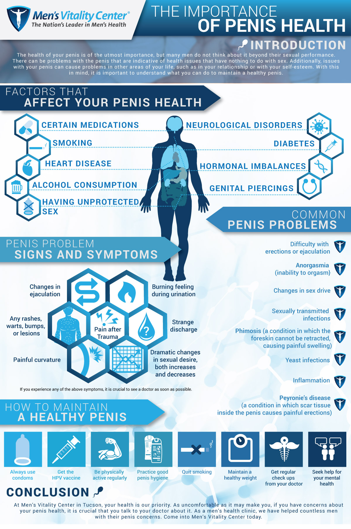 Penis Health Infographic