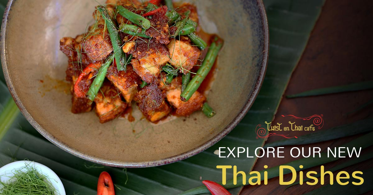 Our New Thai Food Dishes