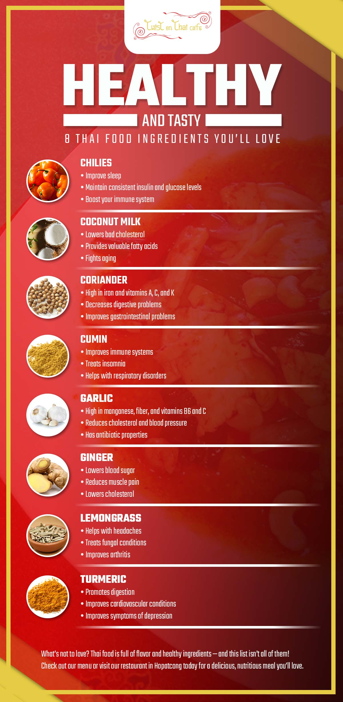 8 Delicious & Nutritious Thai Food Ingredients | Twist on