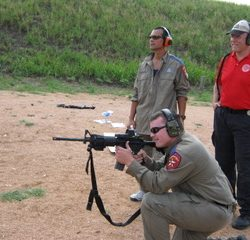 Security Officers Training with Firearm