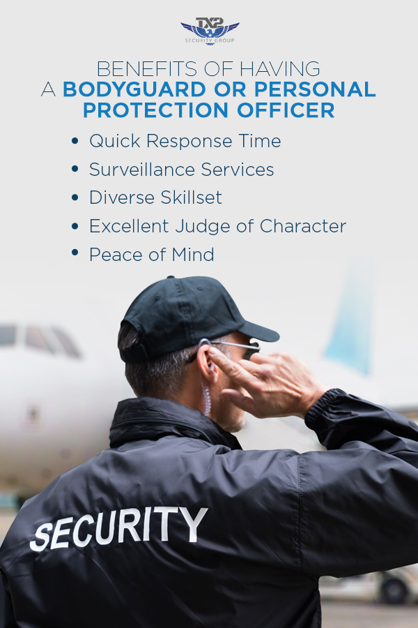 Benefits of a Personal Protection Officer
