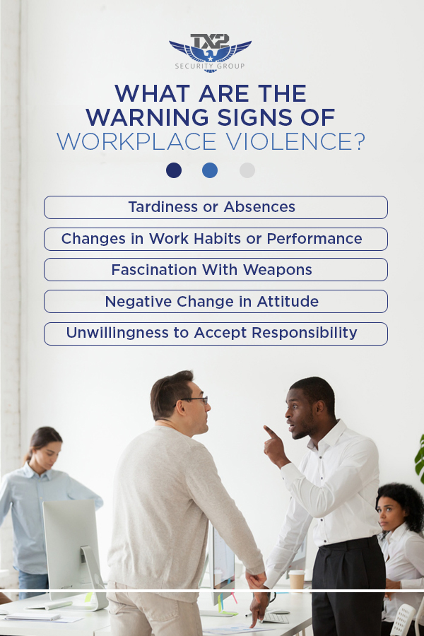 What are the Warning Signs of Workplace Violence