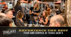 Best Food and Service at Texas Jacks