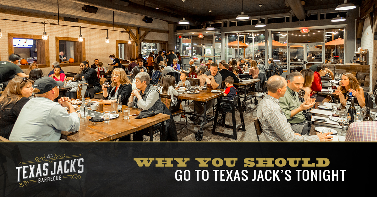 Why You Should Go To Texas Jacks Tonight