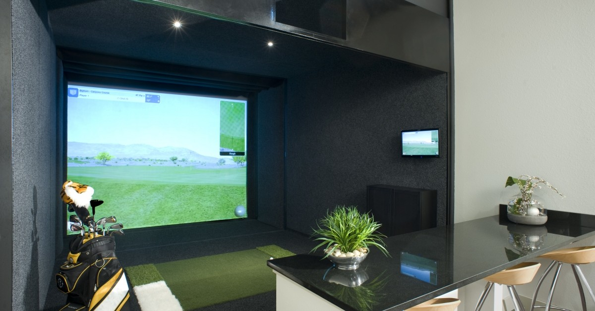 Image of Indoor Golf Simulator Bay