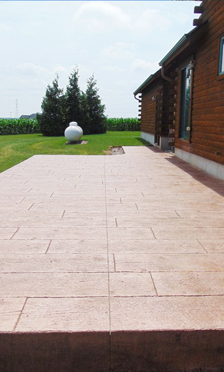 Image of a patio