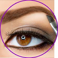 brow-tinting