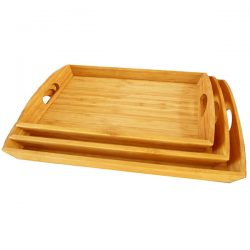 Household products: bamboo trays