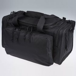 Cut and sew product: duffel bag