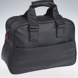 Cut and sew product: black briefcase