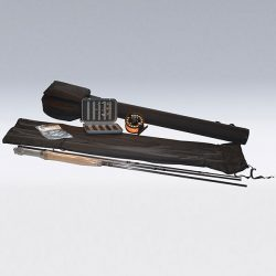 Sporting goods product: fishing pole that folds