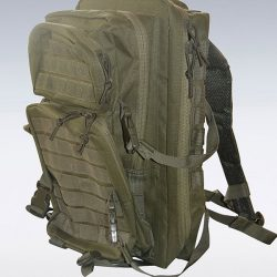 Cut and sew product: army backpack