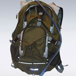 Cut and sew product: hydration pack