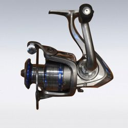 Sporting goods product: fishing reel